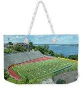 Football Field By The Bay Weekender Tote Bag