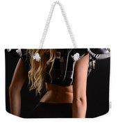 Football Girl Weekender Tote Bag