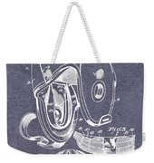 Football Helmet Patent Weekender Tote Bag