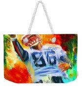 Football II Weekender Tote Bag by Lourry Legarde