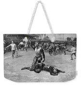 Football Injury, 1891 Weekender Tote Bag