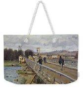 Footbridge At Argenteuil Weekender Tote Bag