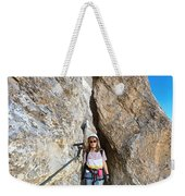 Footbridge On Via Ferrata Weekender Tote Bag