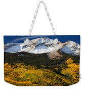 Foothills Of Gold Weekender Tote Bag by Darren  White