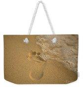 Footprint Weekender Tote Bag