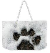 Footprint Series. Cat Weekender Tote Bag