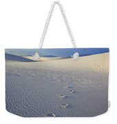 Footprints Weekender Tote Bag by Mike  Dawson
