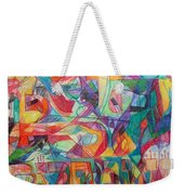 For He Nourishes And Sustains All Weekender Tote Bag