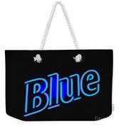 For You Madame Blue Weekender Tote Bag
