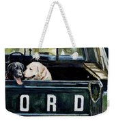 For Our Retriever Dogs Weekender Tote Bag