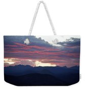 For Purple Mountains Majesty Weekender Tote Bag
