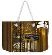 For Service Ring Bell Gct Weekender Tote Bag