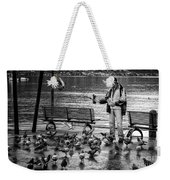 For The Birds Bw Weekender Tote Bag