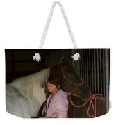 For The Love Of A Horse Weekender Tote Bag