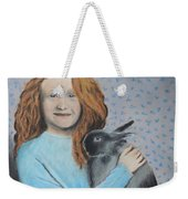 For The Love Of Bunny Weekender Tote Bag