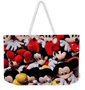For The Mickey Mouse Lovers Weekender Tote Bag