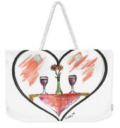 For Two Weekender Tote Bag