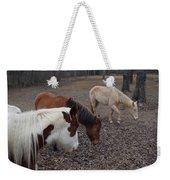 Foraging Horses Weekender Tote Bag