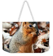 Foraging Through The Autumn Leaves Weekender Tote Bag