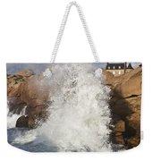 Force Of Breaking Waves Weekender Tote Bag