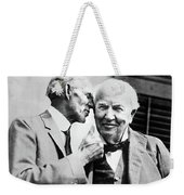 Ford And Edison, C1930 Weekender Tote Bag