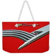 Ford Crown Victoria Emblem Weekender Tote Bag