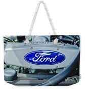 Ford Engine Emblem Weekender Tote Bag