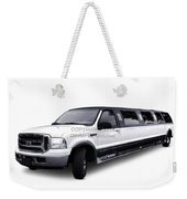 Ford Excursion Stretched Limousine Weekender Tote Bag
