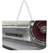 Ford Fairlane 500 Emblem Weekender Tote Bag