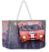 Ford Gt 40 24 Le Mans  Weekender Tote Bag