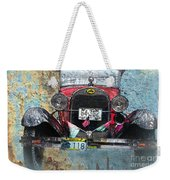 Ford Model A 1928 Oldtimer Weekender Tote Bag