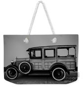 Ford Model A Station Wagon 1930 Weekender Tote Bag