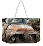 Ford Old Pickup Weekender Tote Bag