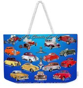 Another Ford Poster Weekender Tote Bag