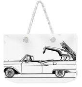 Retractable Ford Top Going Down Weekender Tote Bag