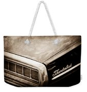 Ford Thunderbird Taillight Emblem Weekender Tote Bag