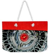Ford Thunderbird Wheel Emblem Weekender Tote Bag