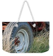 Ford Tractor Tire Weekender Tote Bag by Jennifer Ancker