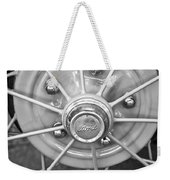 Ford Wheel Emblem -354bw Weekender Tote Bag