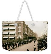 Ford Work Shift Change - Detroit 1916 Weekender Tote Bag