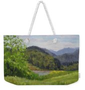 Ford's Pond In Spring Weekender Tote Bag
