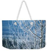 Foreground Frost Weekender Tote Bag