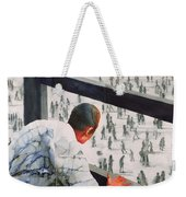 Foreign Correspondent Weekender Tote Bag by Graham Dean