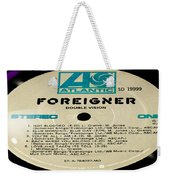 Foreigner Double Vision Side 1 Weekender Tote Bag