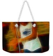 Foreigner-lou-gc13-fractal Weekender Tote Bag