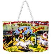 Forepaugh And Sells The Orfords Weekender Tote Bag