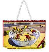 Forepaugh And Sells Wild Wheel Whirl Wonders Weekender Tote Bag