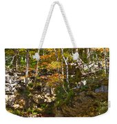 Forest Above The Cave Weekender Tote Bag