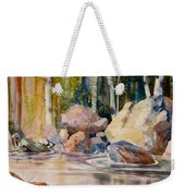 Forest And River Weekender Tote Bag