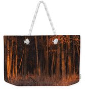 Forest At Sunset Weekender Tote Bag